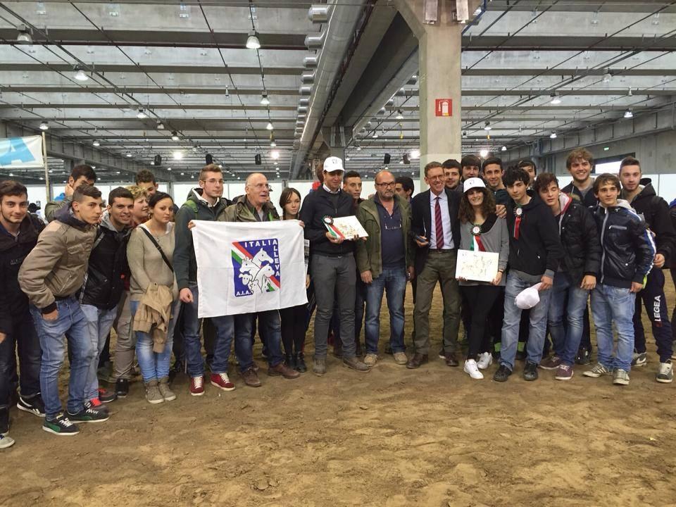 Il 'Vegni' trionfa alla Fieracavalli di Verona