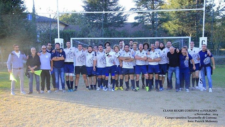 Rugby: prima vittoria stagionale per il Clanis