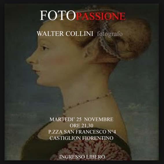 Walter Collini ospite di FotoPassione