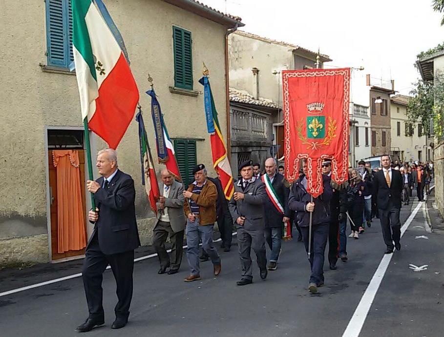 La Festa delle Forze Armate celebrata a Marciano