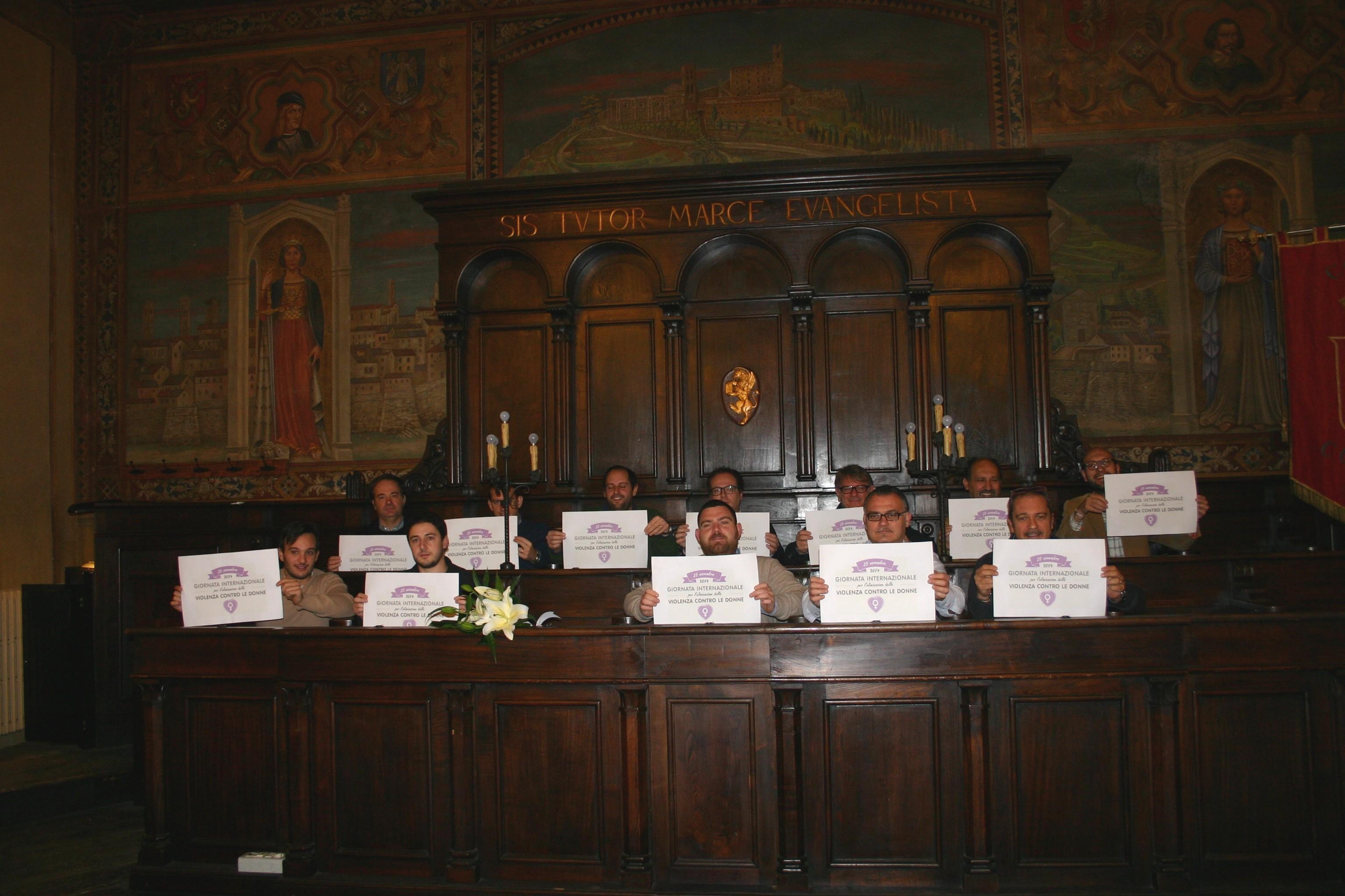 Cortona dice 'No' alla violenza sulle donne
