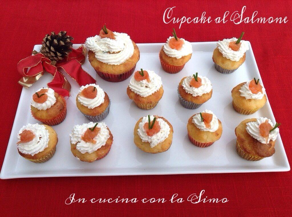 In cucina con la Simo: Cupcake al salmone