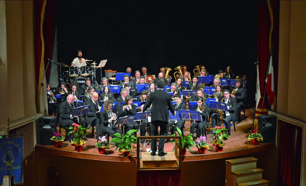 Concerto di fine anno della Filarmonica 'Gigli' al Verdi di Monte San Savino
