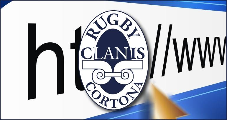 Il Clanis Rugby Cortona sbarca su Internet, on line il nuovo sito web