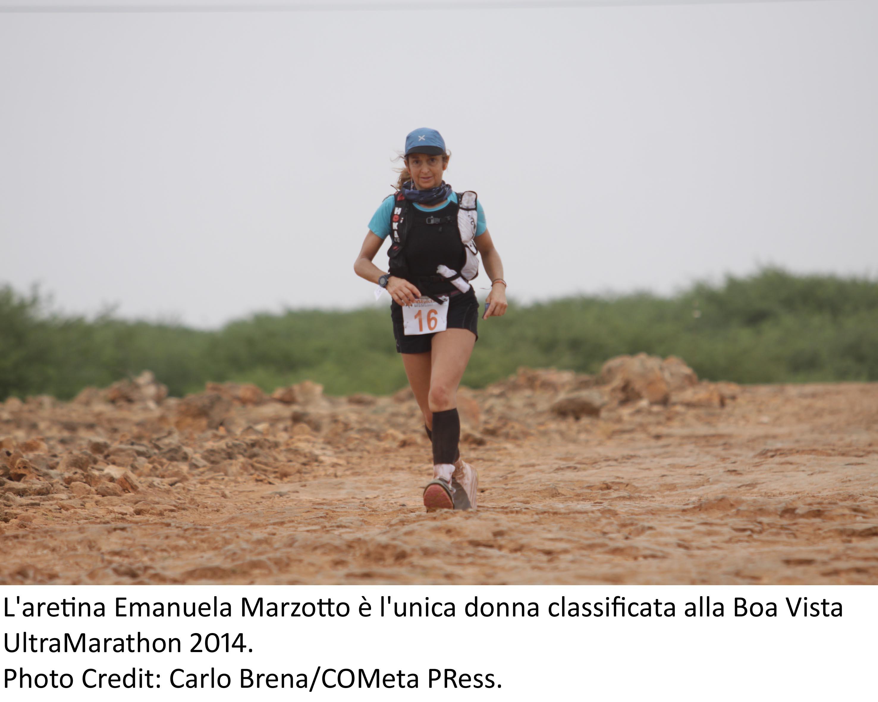 La lucignanese Emanuela Marzotto ha trionfato alla Boa Vista Ultratrail