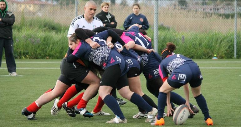 Le Ladies del Rugby Clanis battono Arezzo e pareggiano con Perugia