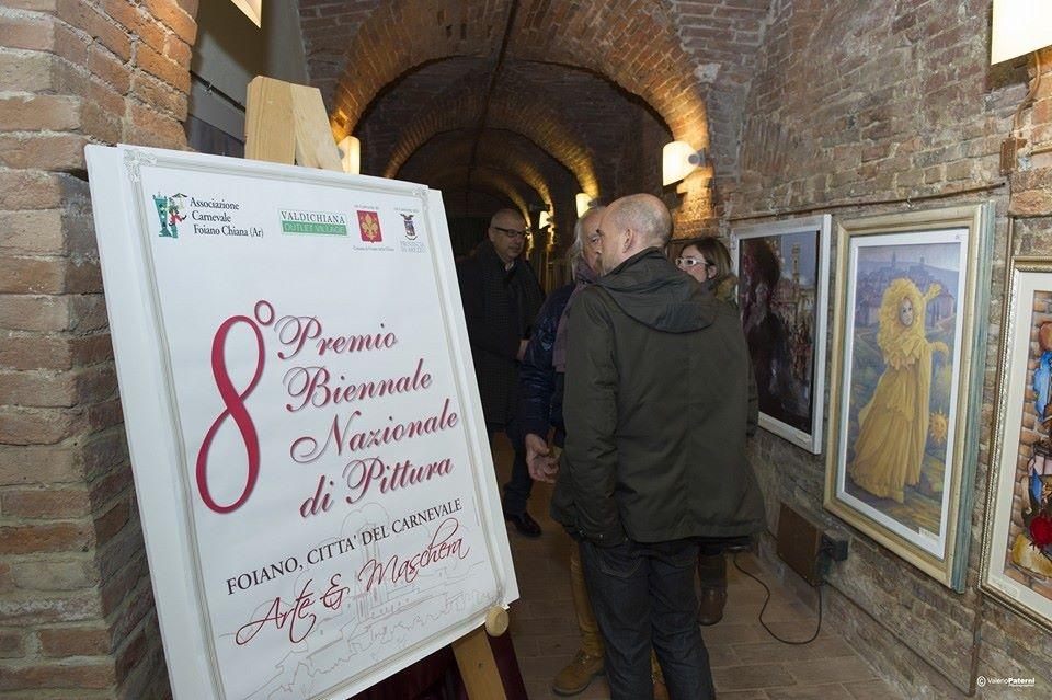 Premio Biennale di pittura in concomitanza col Carnevale di Foiano