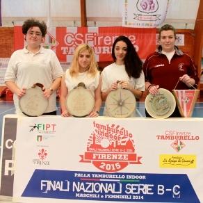 Pallone grosso: la squadra femminile di Monte San Savino terza nella finale nazionale