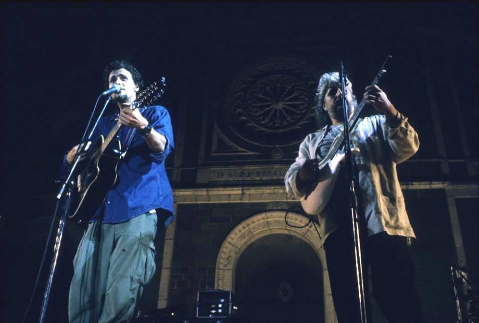 Pino e quella notte a Cortona