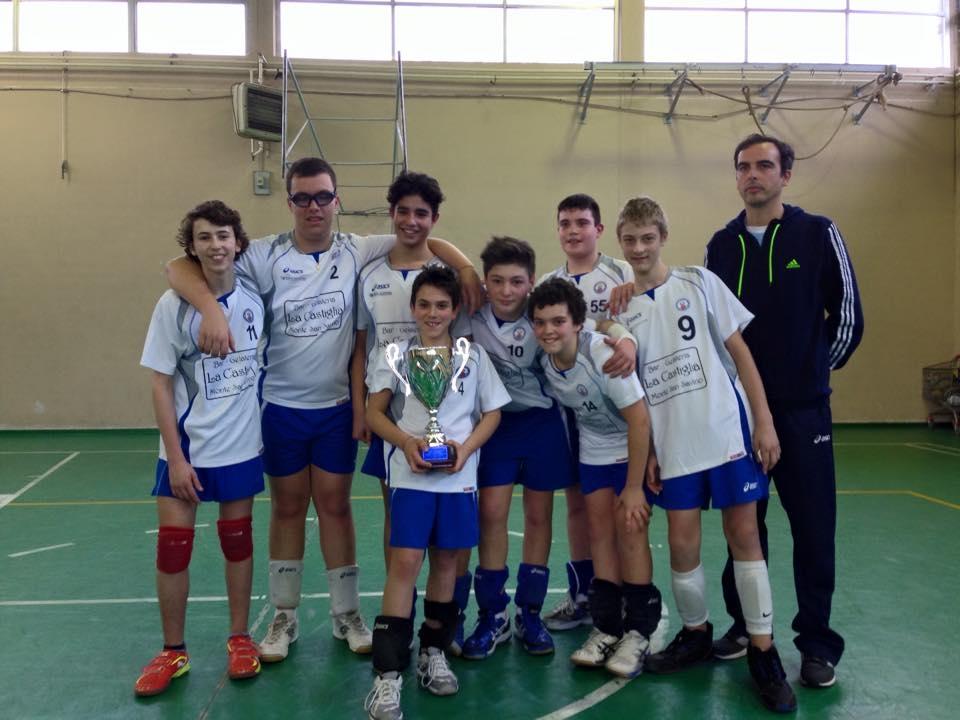 I ragazzi dell'Under 14 della Savinese vincono il campionato provinciale