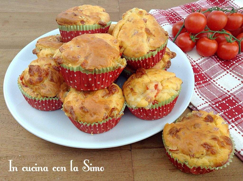 Muffin di pizza