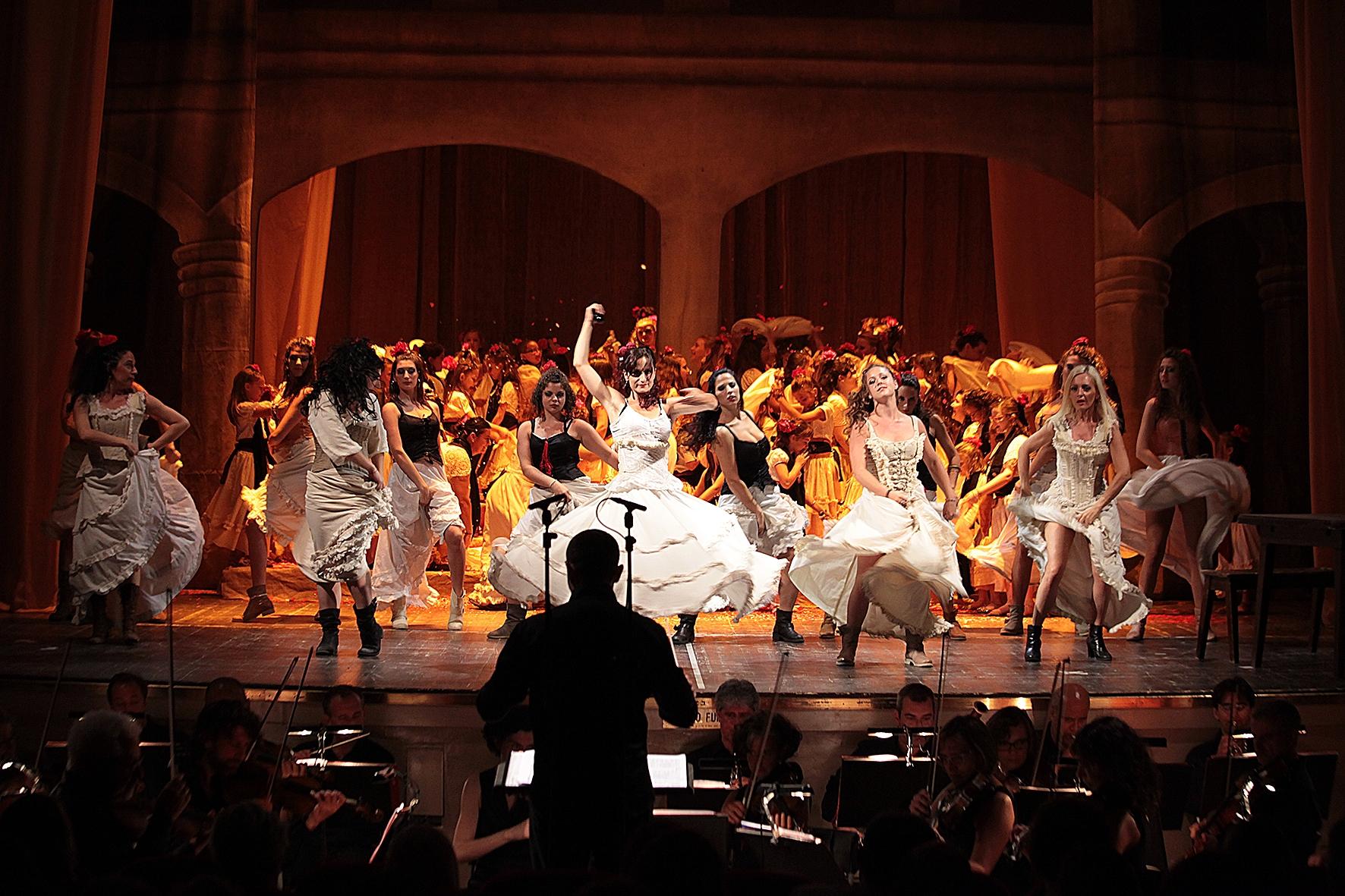 La Carmen dei ragazzi cortonesi va in scena a Firenze