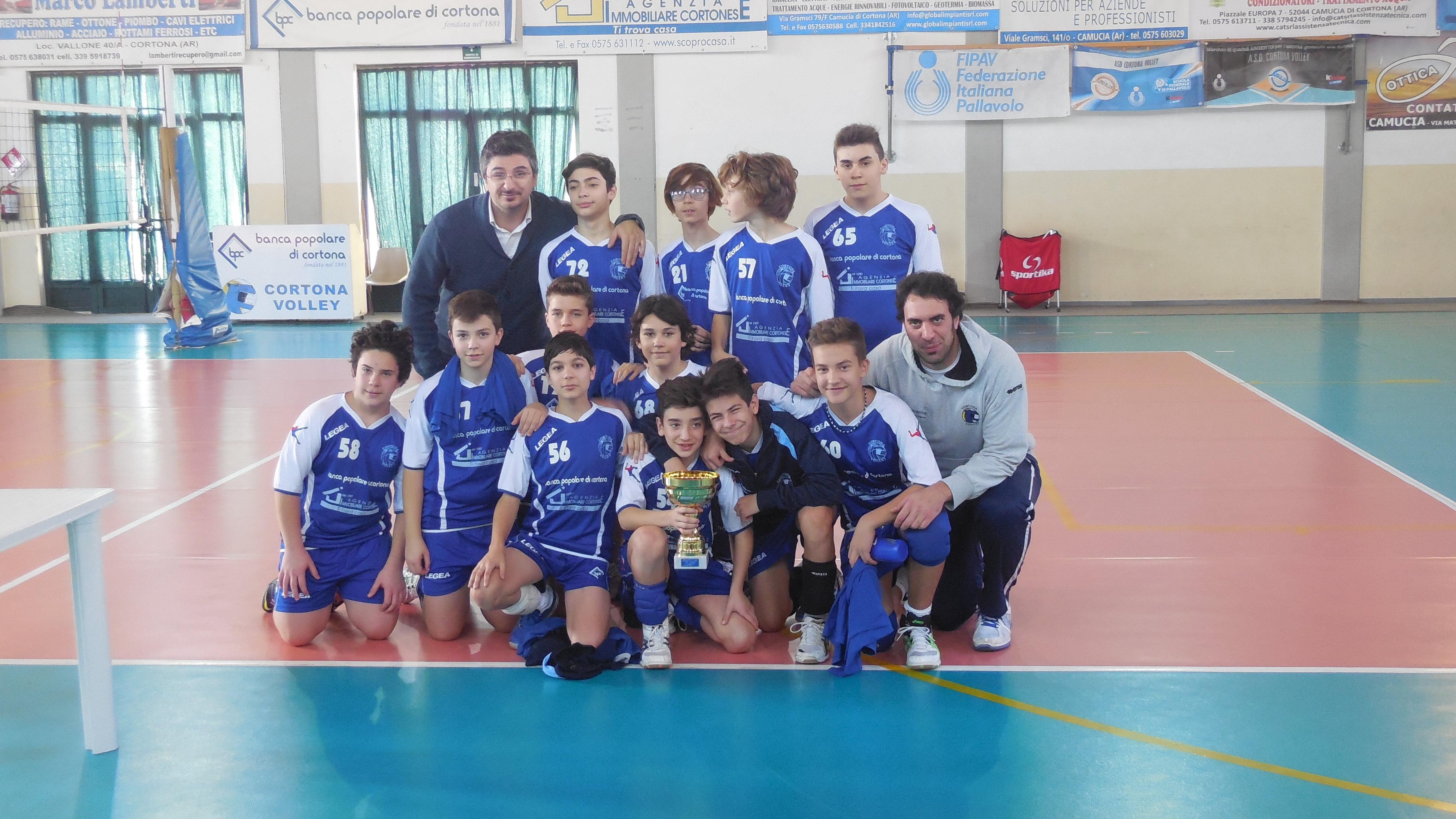 A Monte San Savino la finale interprovinciale Under 14 di Volley