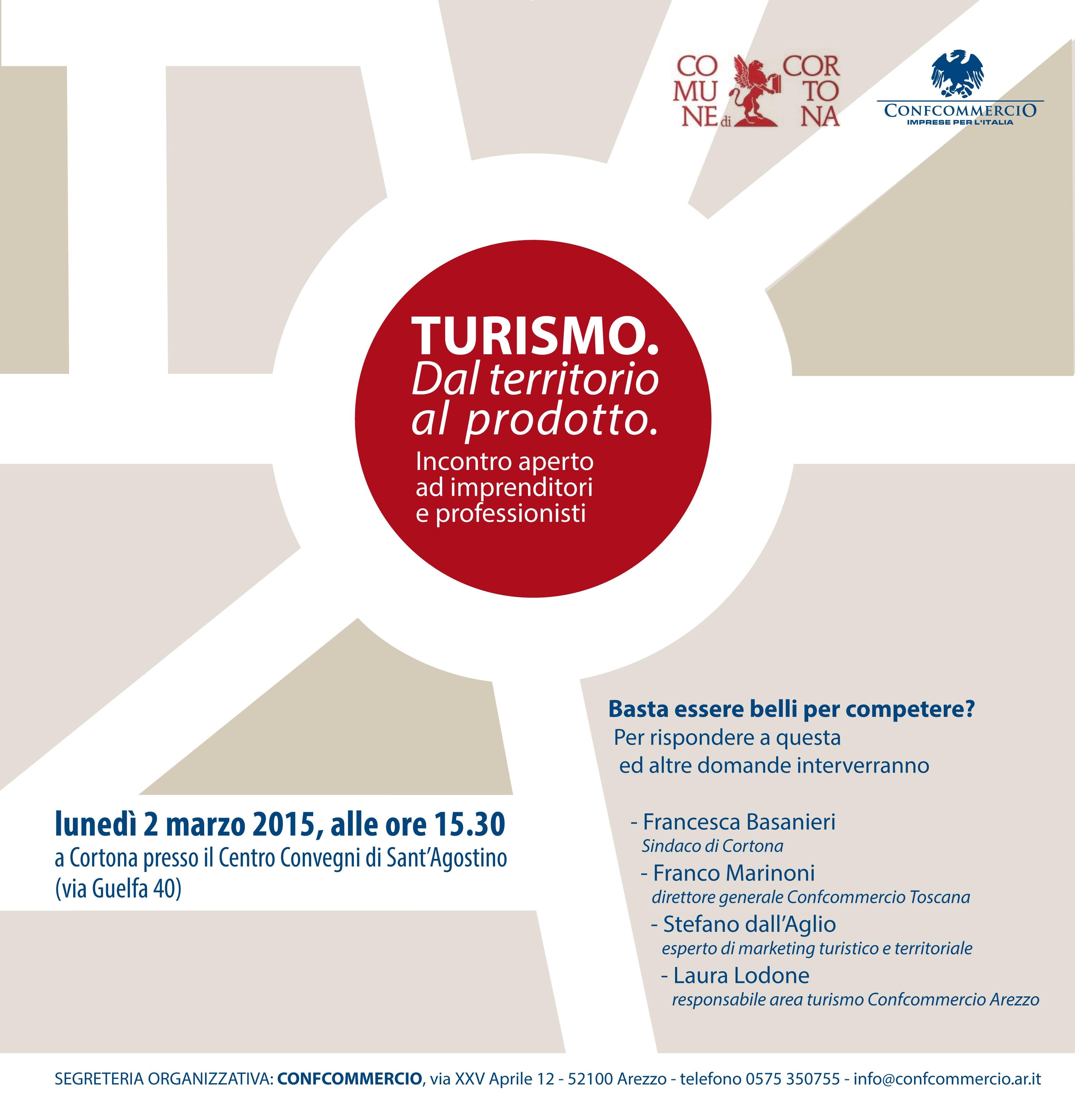 Cortona, riflessioni aperte sul commercio e il turismo
