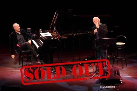 Mix Festival Winter, anche il concerto di Gino Paoli e Danilo Rea è