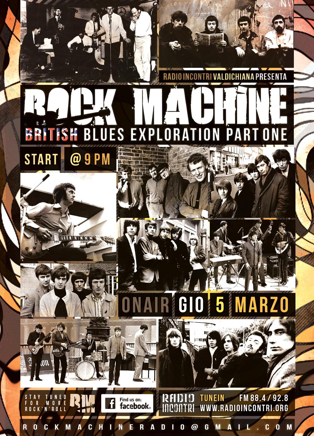 British Blues Exploration, parte prima