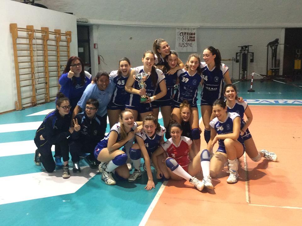 L'Under 18 Cortona Volley Progetto Valdichiana trionfa nel campionato provinciale