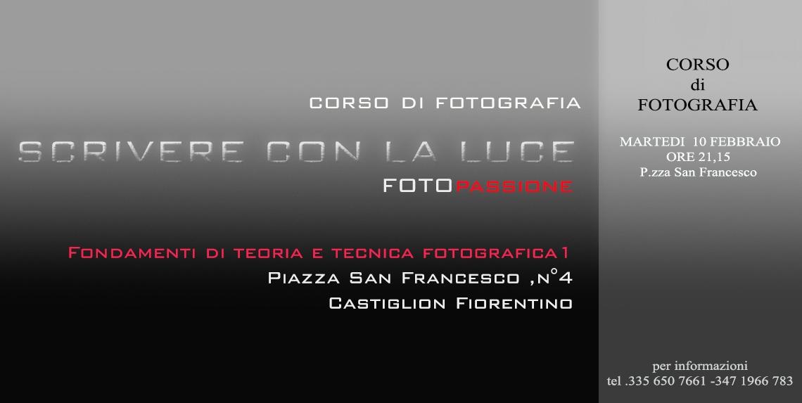 'Scrivere con la luce' a FotoPassione