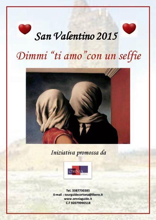 San Valentino con sfida a colpi di 'Selfie' a Castiglion Fiorentino