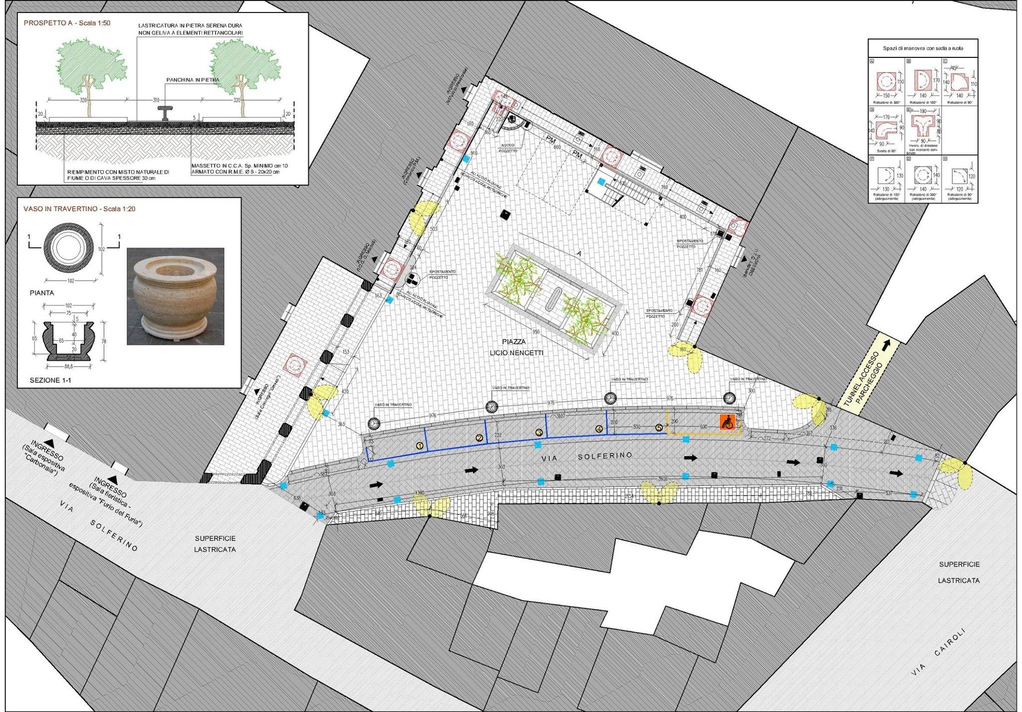 Foiano: approvato il progetto per la nuova area Mercatale di Piazza Nencetti