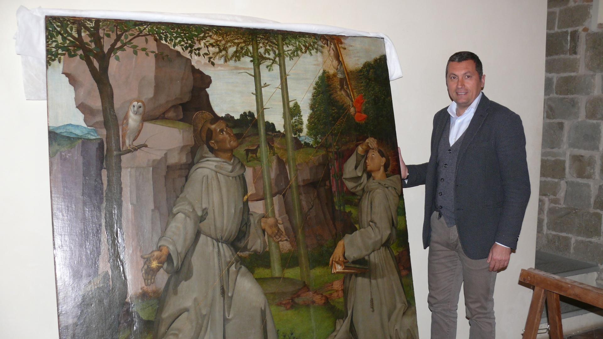 Due 'tesori' di Castiglion Fiorentino in mostra a Firenze