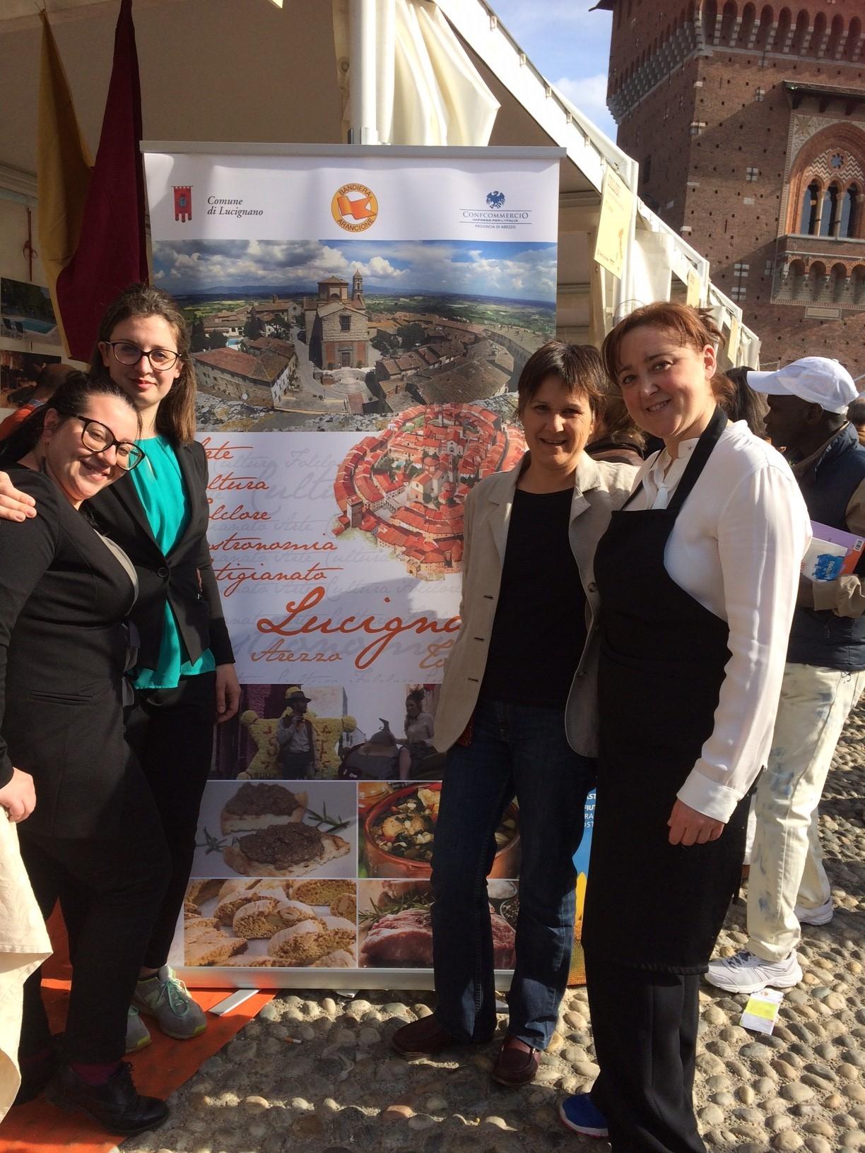 Bandiere Arancioni, Lucignano protagonista al Castello Sforzesco di Milano