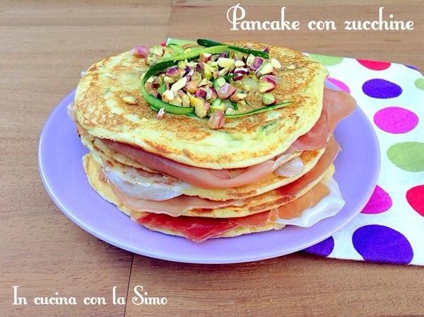 Pancake con zucchine