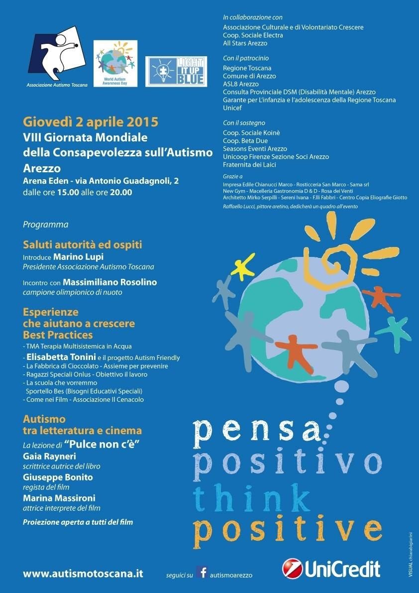Autismo, serie di iniziative ad Arezzo e in provincia per la Giornata Mondiale della Consapevolezza