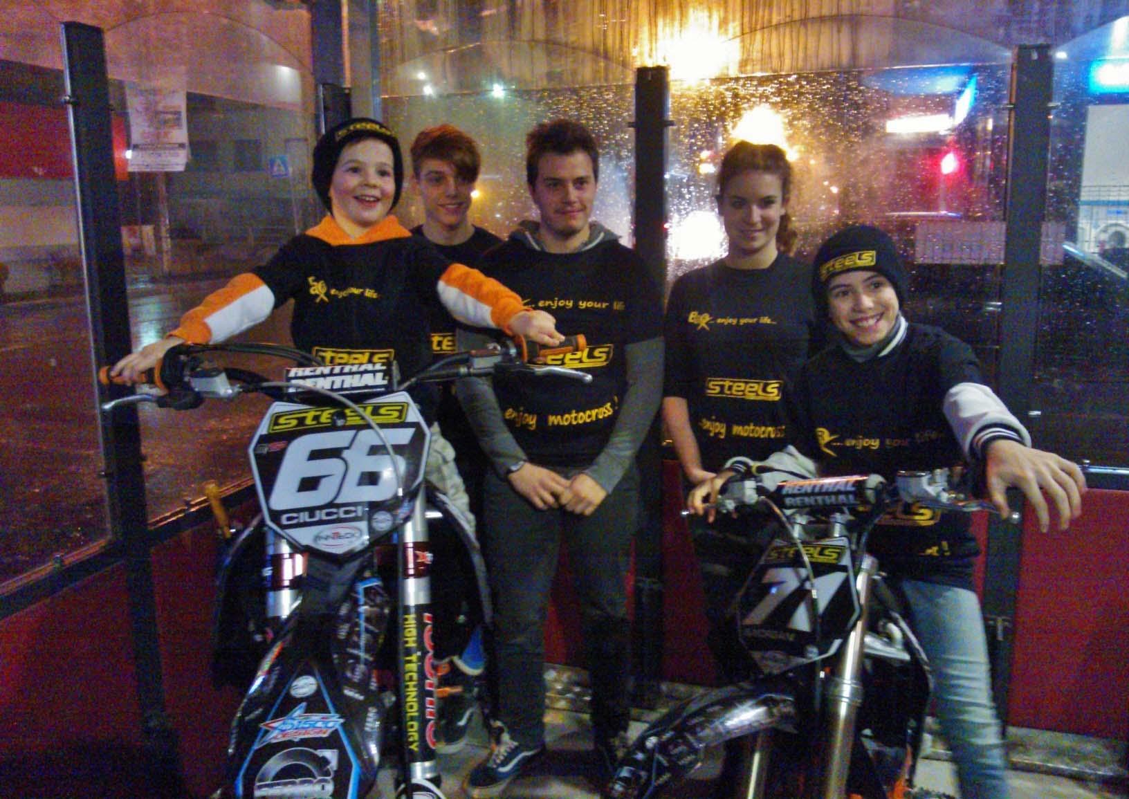 Motocross: La Steels debutta ai campionati italiani a Montevarchi