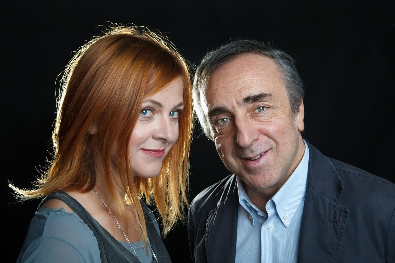 Marina Massironi e Silvio Orlando con 'La Scuola' sul palco del Signorelli