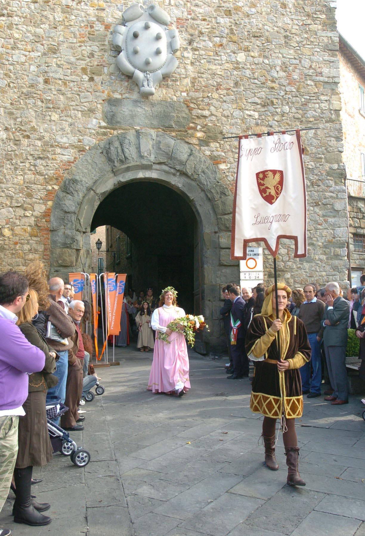 Lucignano protagonista al Castello Sforzesco di Milano coi Comuni
