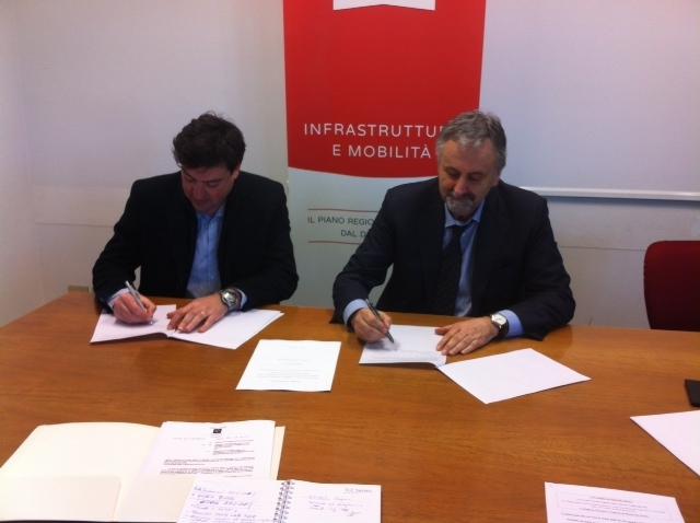 Accordo Regione - Comune di Monte San Savino per il marciapiede di Vado
