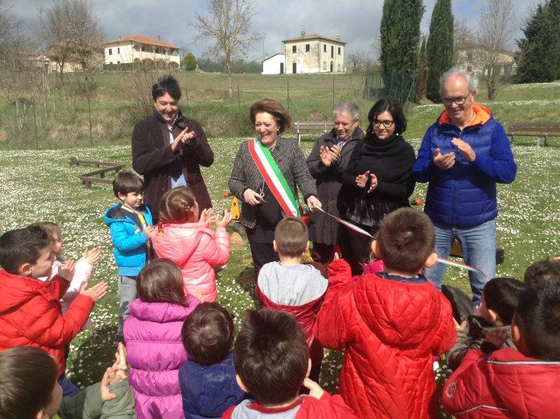 Monte San Savino, nuovi giochi al Parco di Fontarronco