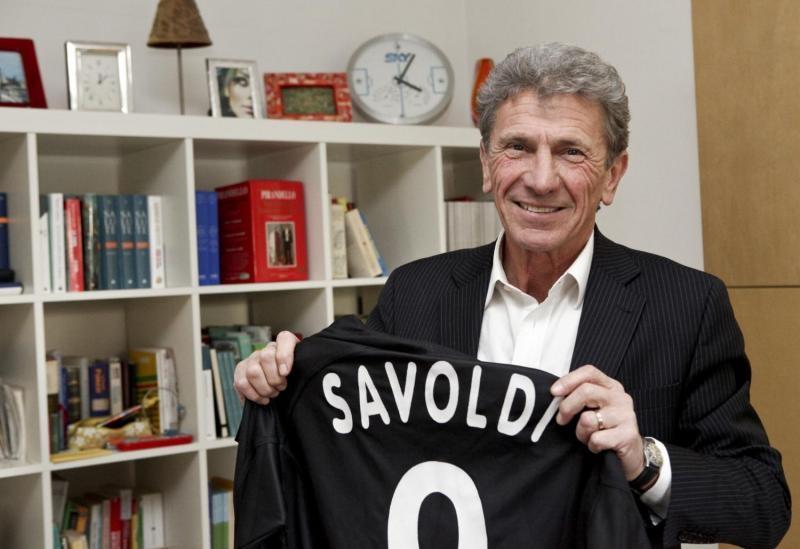 Beppe Savoldi, l'indimenticato bomber, ospite al Valdichiana Outlet Village