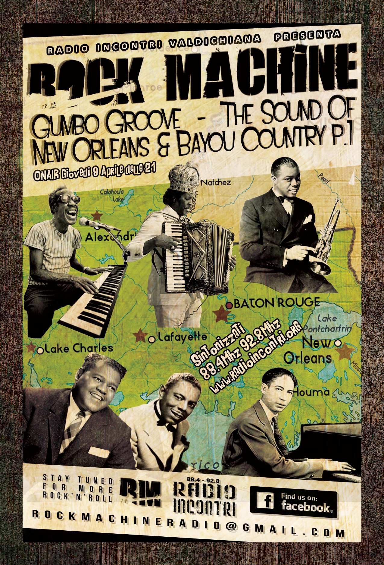 Gumbo Groove - The Sound Of New Orleans & Bayou Country (parte 1)