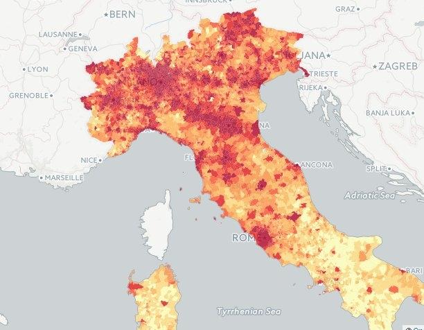 Ricchi e Poveri in Valdichiana: la mappa dei redditi medi Comune per Comune