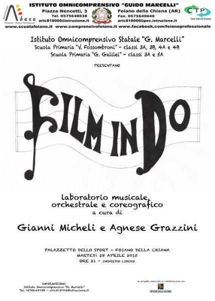 'Film in Do', la rassegna si conclude col concerto al Palazzetto di Foiano