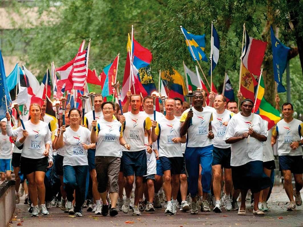 La Peace Run fa tappa a Montepulciano il 25 Aprile