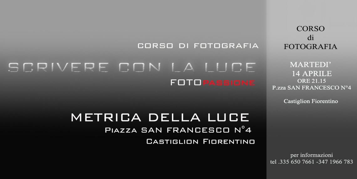 FotoPassione, nuovo appuntamento con 'Scrivere con la luce'