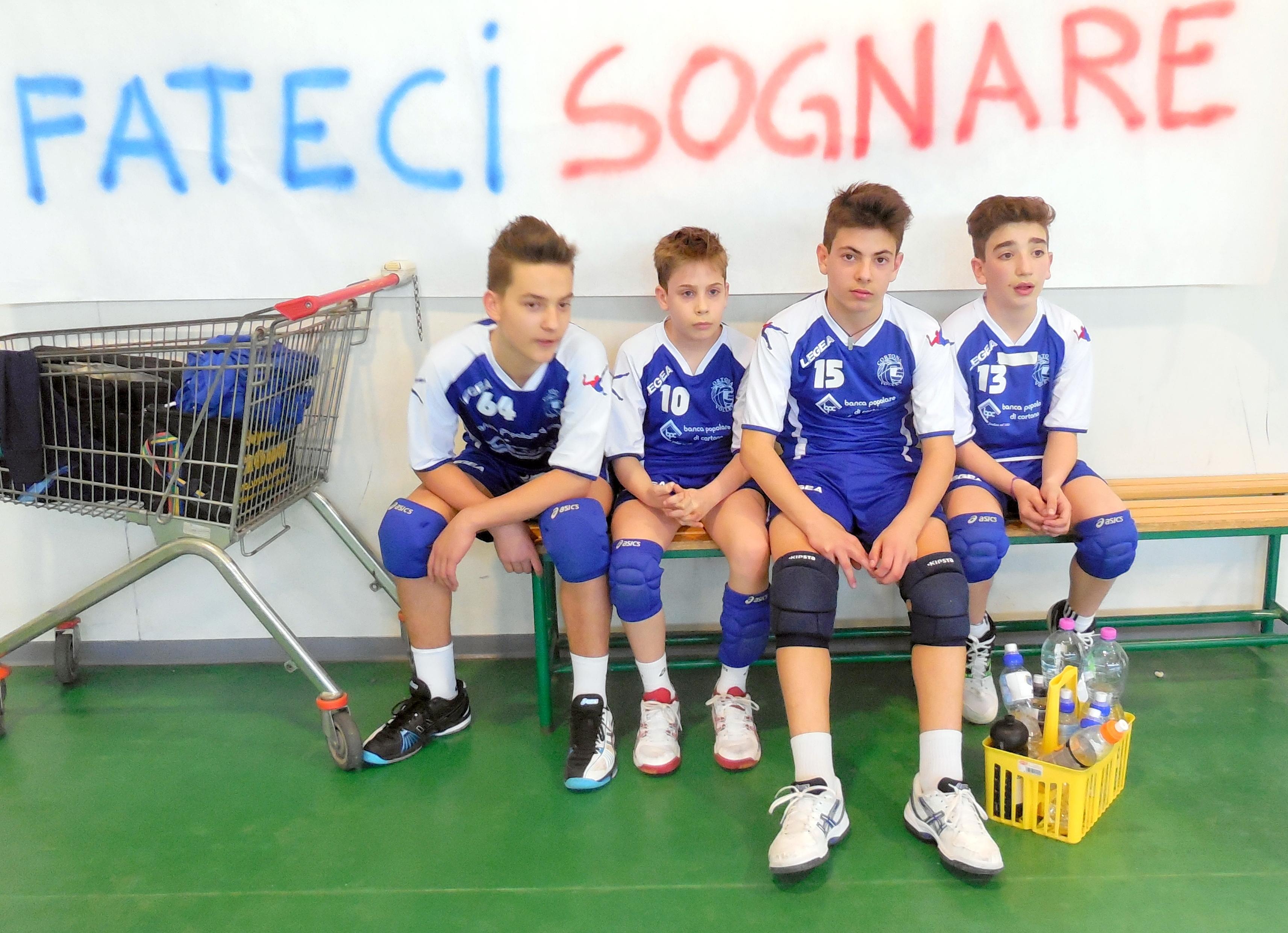 Il Cortona Volley Under 13 entra nella finale a 6 regionale