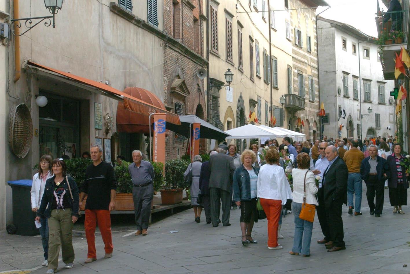 A Lucignano Pasquetta con la tradizionale Fiera