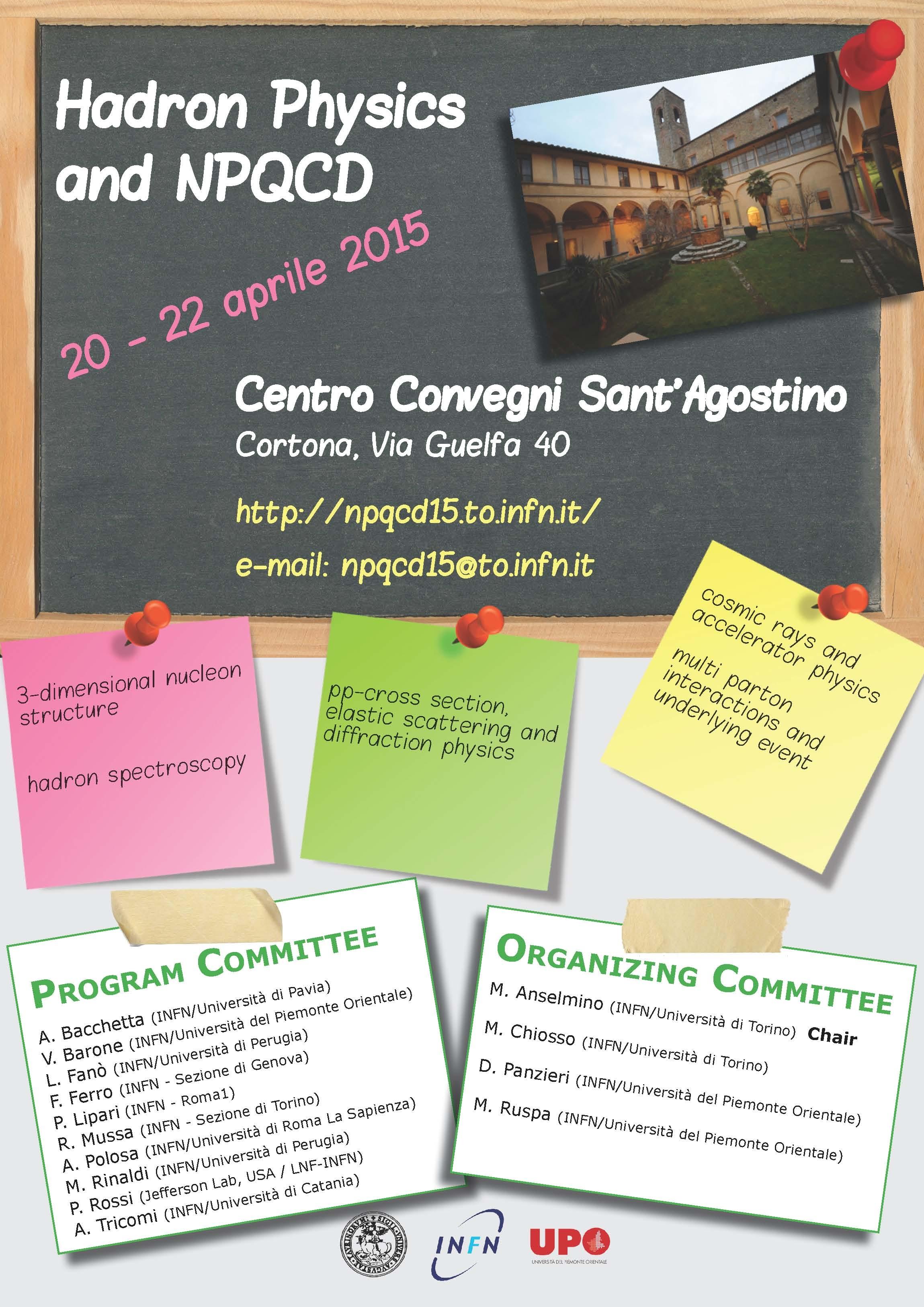 A Cortona Convegno del Dipartimento di Fisica dell'Università di Torino
