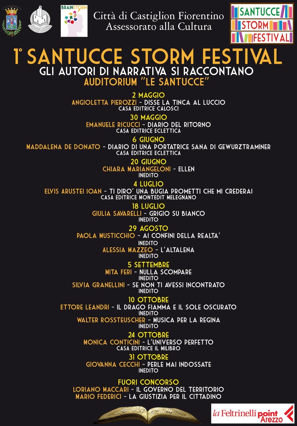 Santucce Storm Festival: cultura e creatività protagoniste a Castiglion Fiorentino
