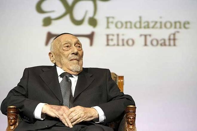 Addio a Elio Toaff, cordoglio dell'Amministrazione Comunale e di tutta la comunità savinese