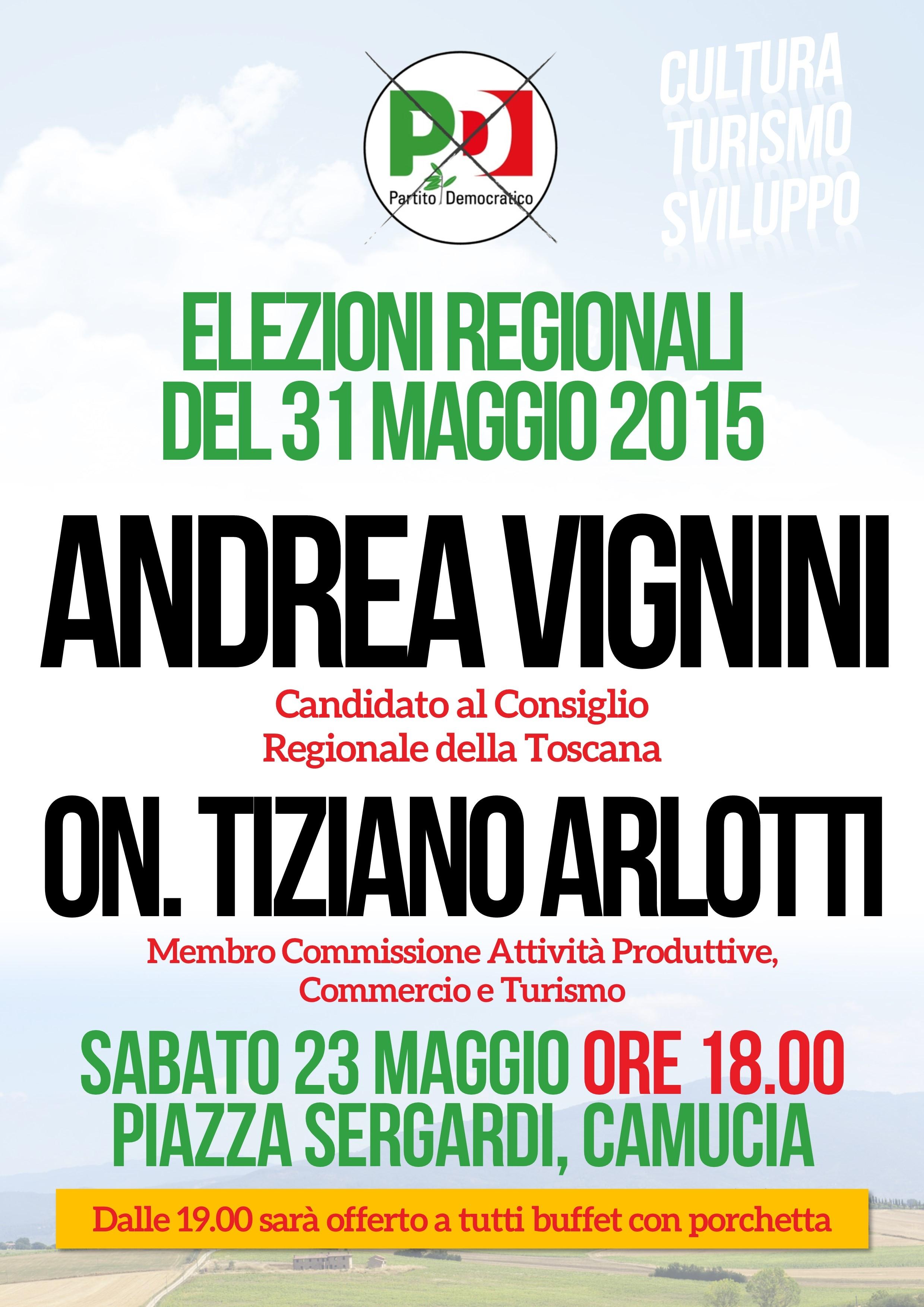Due incontri con Andrea Vignini a Camucia e Terontola nel prossimo weekend