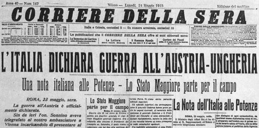 100 anni dalla Grande Guerra: 4 modi per non dimenticare