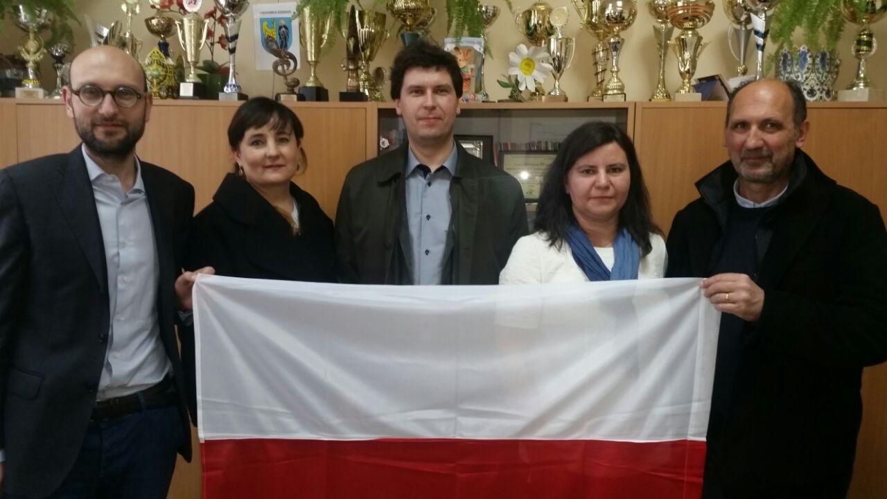Una delegazione cortonese in visita a Czechowice - Dziedzice