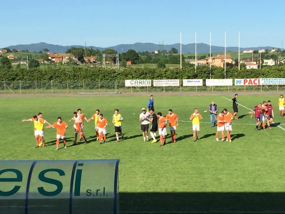 Calcio: continua la corsa del Cortona. Terontola e Marciano retrocedono. Tutti i verdetti finali