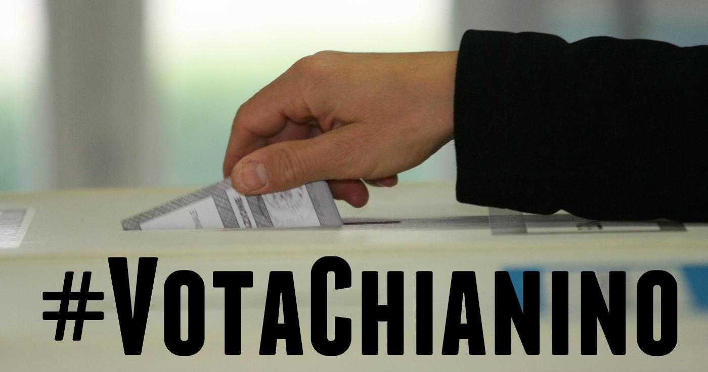 #VotaChianino!