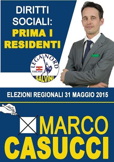 Lega, comincia da Cortona il tour elettorale di Marco Casucci